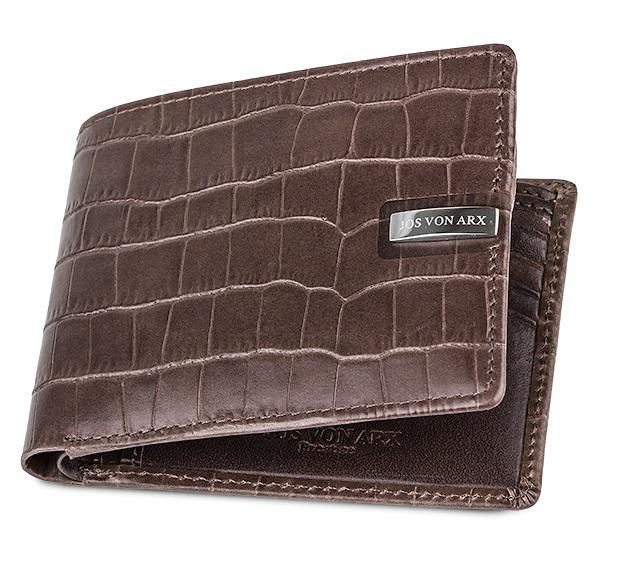Brown Natural Leather Accessories Set for Men by Jos von Arx-big