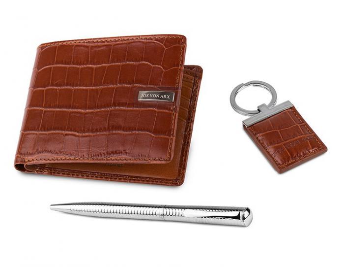 Brown Leather Set by Jos von Arx 1