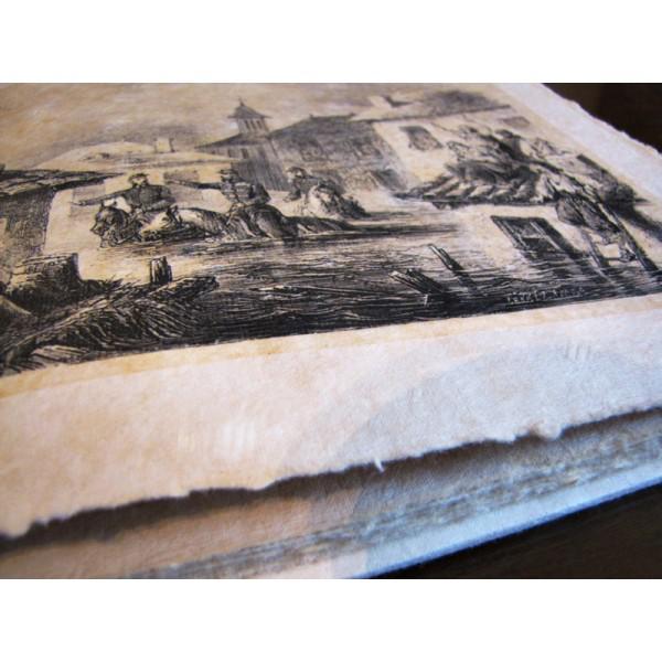 Cartea Bucureștii vechi - în date și imagini - realizată manual-big