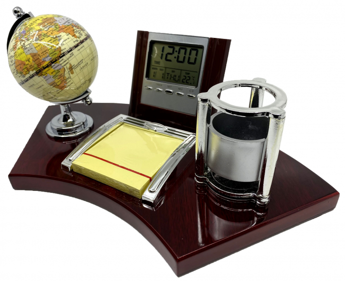 Business Desk Global World 1