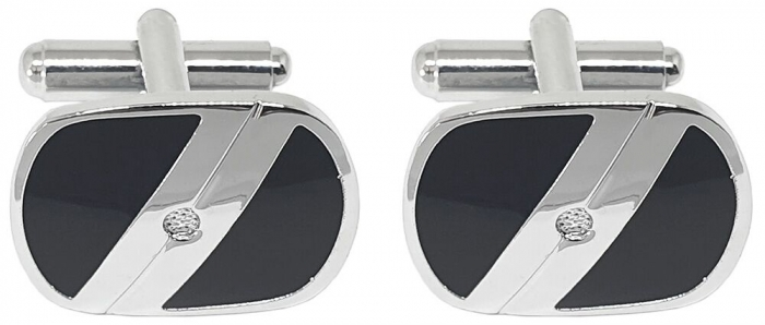 Business Premium Gift Set Stilou Hugo Boss si Butoni Silver Stamp-big