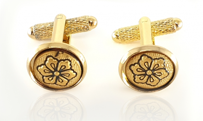 Butoni Gold Flower by Credan - Made in Spain 0