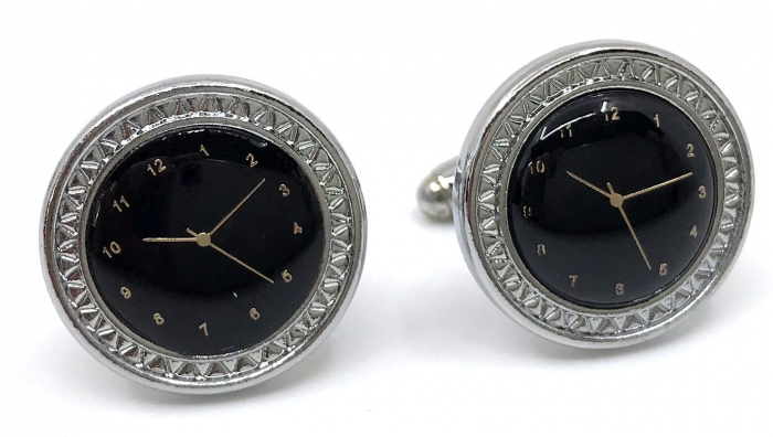 Butoni Noir Clock by Borealy [0]