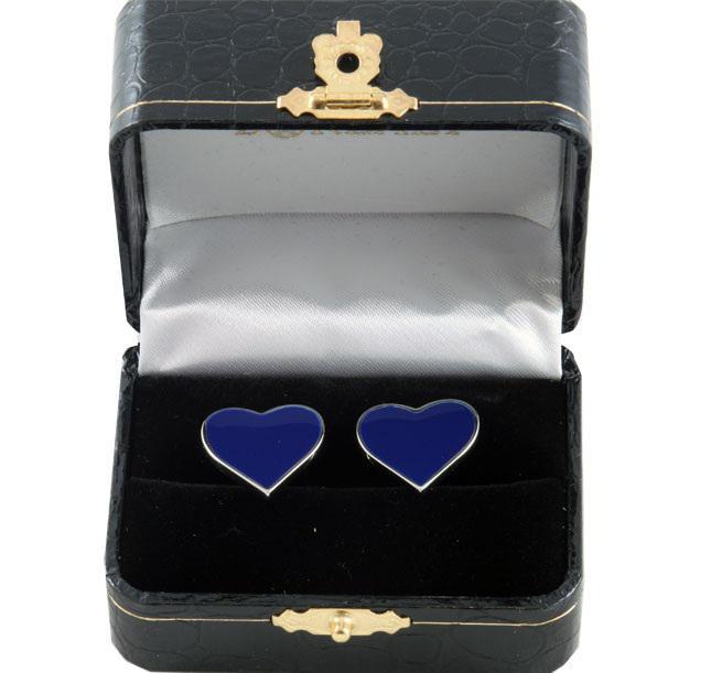Butoni si Cravata Bluemarine Heart-big