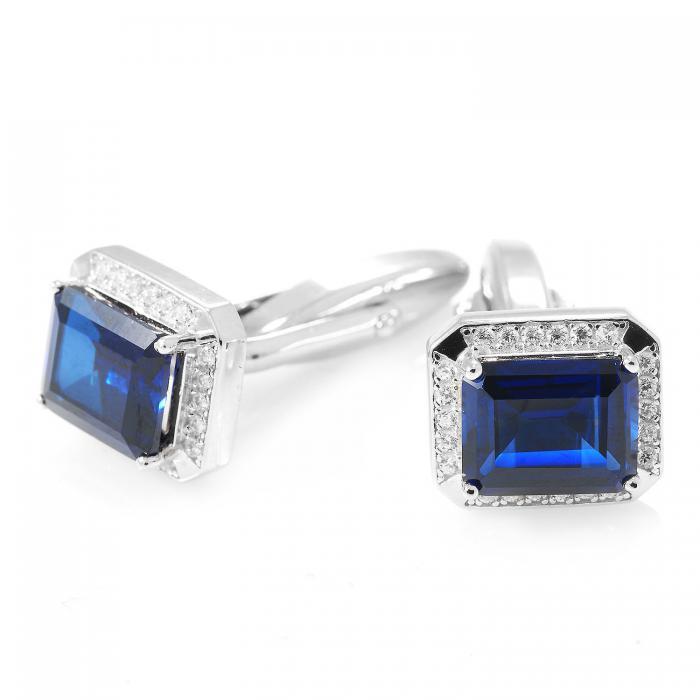 Butoni Borealy Luxury Safire 9 carate Argint 925 2