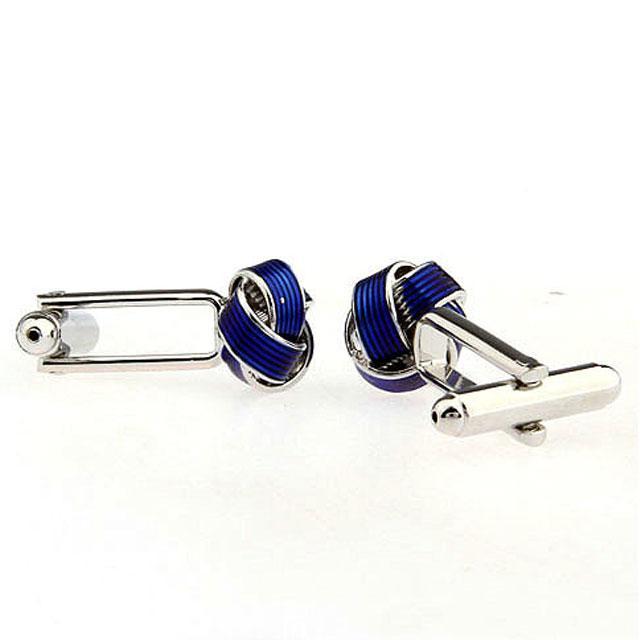 Butoni Knot Twist Blue Business-big