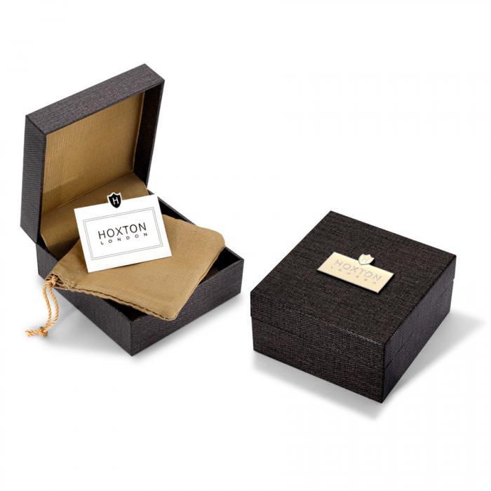 Set Butoni Personalizabili Borealy Argint 925 si Note pad Black Hugo Boss 3