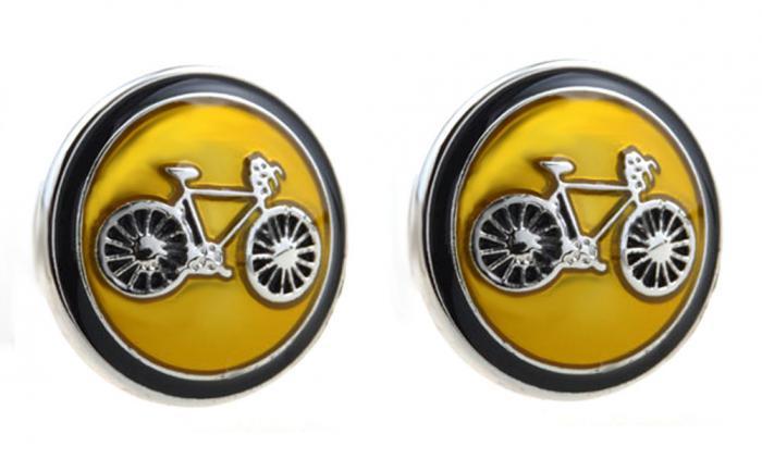 Butoni Borealy Yellow Bicycle 0