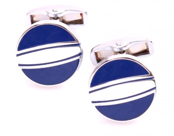 Set Butoni Borealy Elegant Blue Circle si Note pad Black Hugo Boss 2