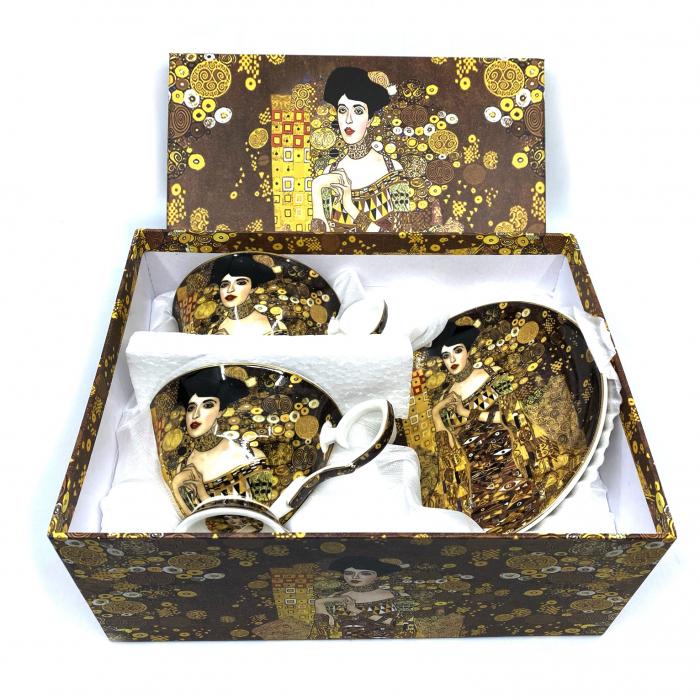 Cadou 2 Cani Golden Lady by Gustav Klimt 1