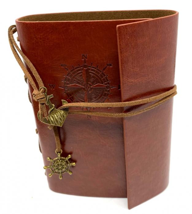 Cadou Leather Book - Cutie de Depozitare si Agenda by Borealy 1