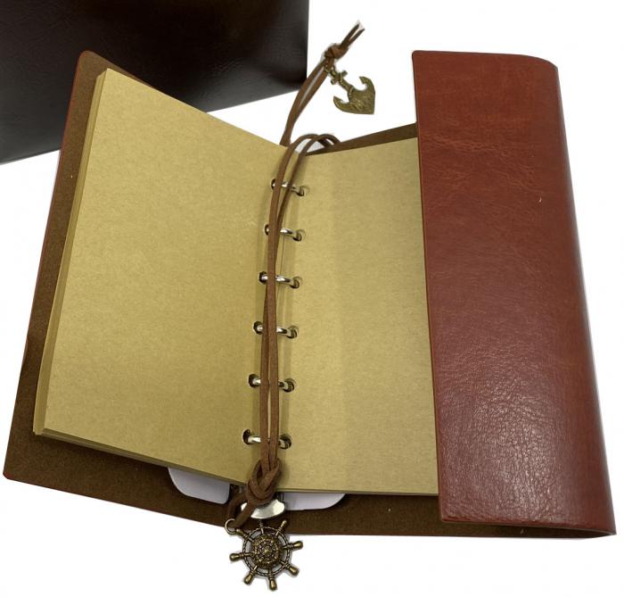 Cadou Leather Book - Cutie de Depozitare si Agenda by Borealy 3