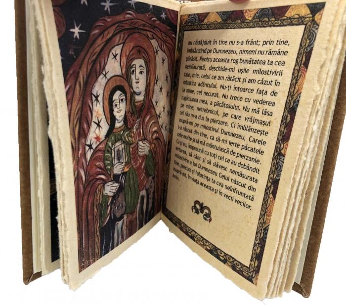 Cadou Icoana Argint 925 Maica Domnului si Carte de Rugaciuni 4