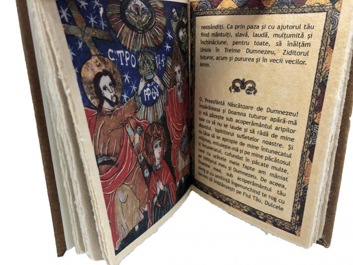 Cadou Icoana Argint 925 Maica Domnului si Carte de Rugaciuni 5