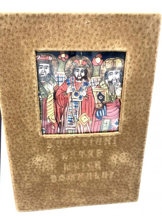 Cadou Icoana Argint 925 Maica Domnului si Carte de Rugaciuni 2