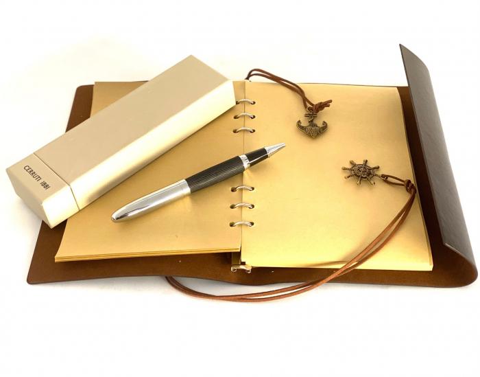 Pix Cerutti 1881 Partner & Leather Agenda by Borealy 0