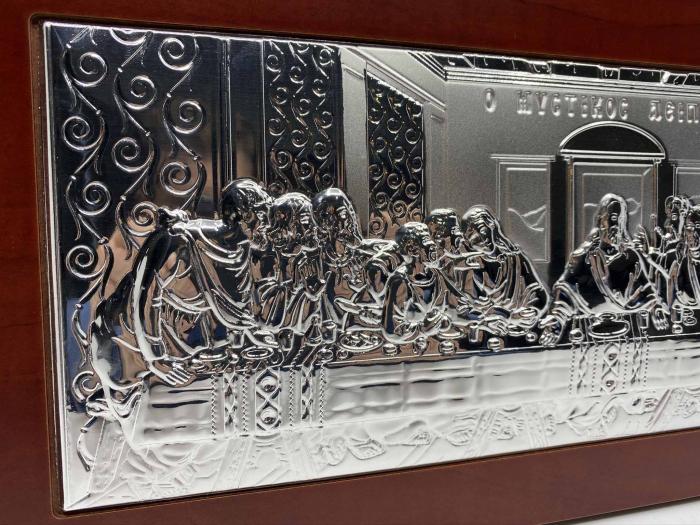 Icoana Cina cea de Taină Argint 925 3