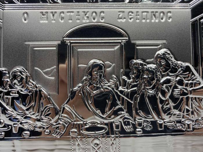 Icoana Cina cea de Taină Argint 925 [2]