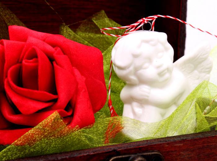 Cadou Angel of Love & Key Pendant Argint 925 3