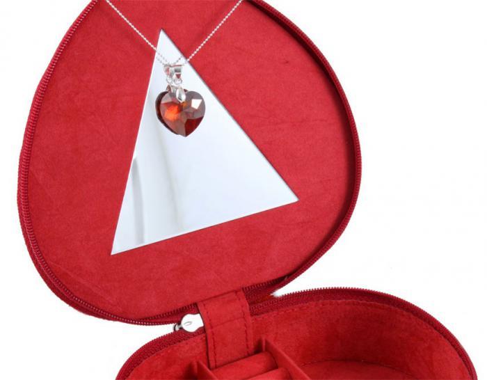 Cadou Be My Lady pandantiv si cutie bijuterii Friedrich made in Germany-big
