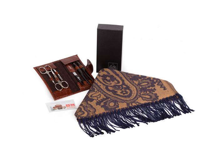 Cadou Brown Lady Accessories by Erbe - Made in Germany 0