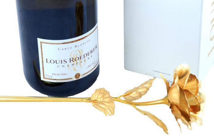 Cadou Gold Rose Louis Roederer 2