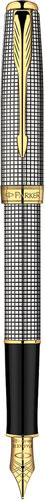 Set Stilou Sonnet Sterling Silver Parker argint masiv & penita aur si Note Pad Black Hugo Boss 3