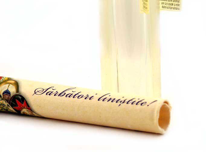 """Cadou Mesaj in sticla """"Sarbatori Linistite"""" 3"""