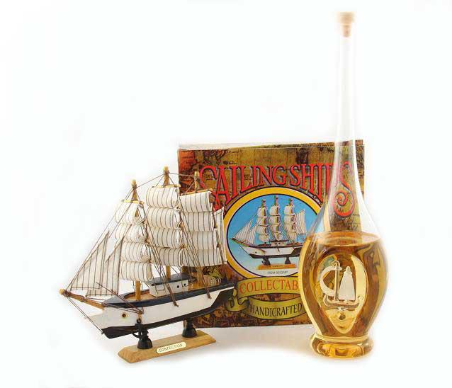 Cadou Precious Bottle Ship 0