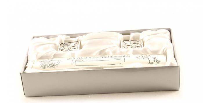 Cadou Botez Argintat pentru Certificat, Prima Buclă si Primul Dinţişor 1