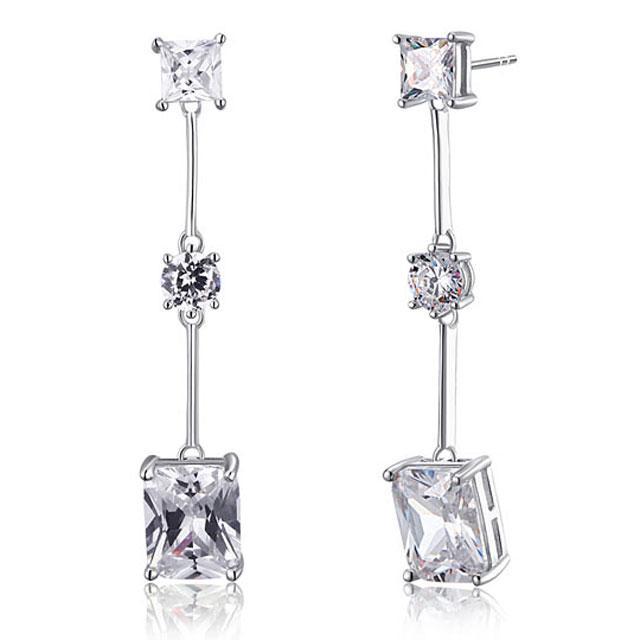 Cercei Borealy Argint 925 Simulated Diamond Amelie-big