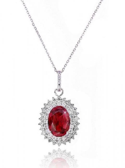 Colier Contesa Red Rubin Argint 925 [0]