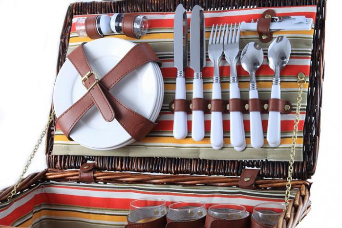 Cos picnic pentru 4 persoane Fagaras 1