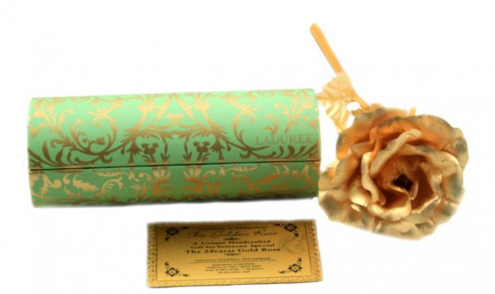 Laduree Gold Rose 1