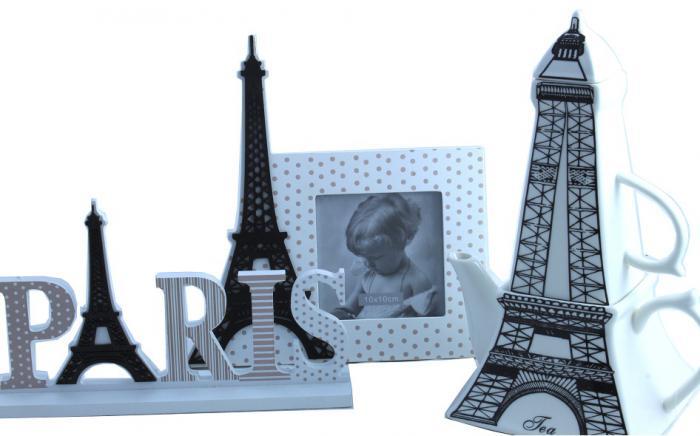 Ramă Foto & Ceainic Paris Amour 1