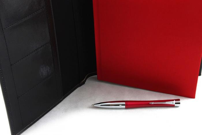Red & Black Business Parker 1