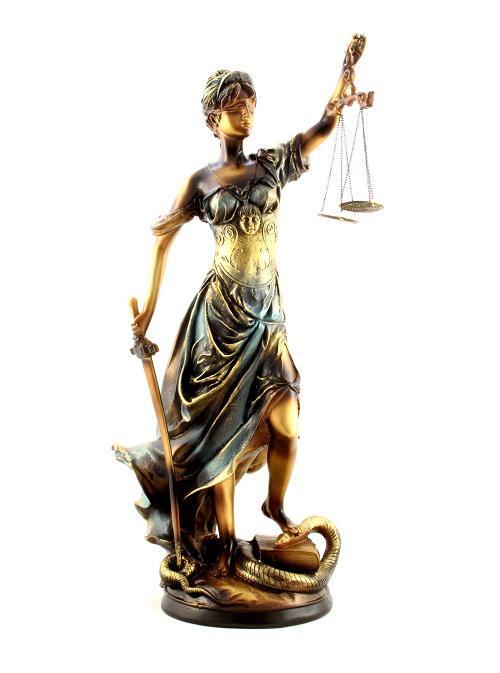 Zeiţa Justiţiei 30 cm 0