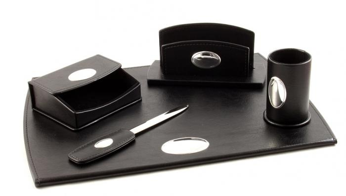Cadou Set de Birou Corporate Leather by Valenti - Made in Italy 0