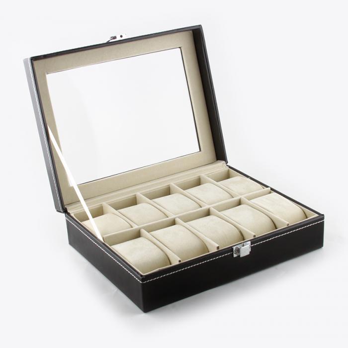 Set cutie 10 ceasuri Black Elegance si Note pad Hugo Boss - personalizabil 2
