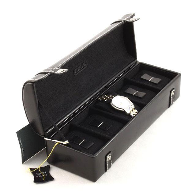 Set Cutie 5 Ceasuri Piele Naturală By Friedrich, seria Collector London Leather si Note Pad Black Hugo Boss-big
