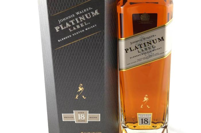 Johnnie Walker Platinum Label - 18 Years Old 1