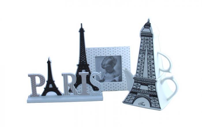Ramă Foto & Ceainic Paris Amour 0