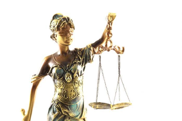 """Statueta """"Zeiţa Justiţiei"""" Gold 59 cm [1]"""