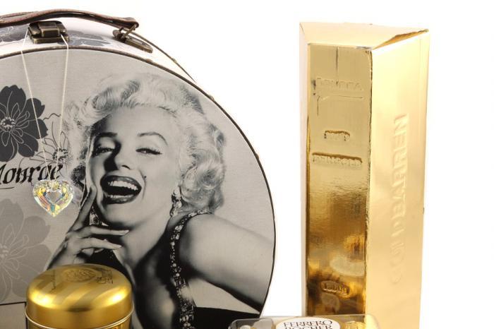 Marylin Monroe Golden Dream Gift Set 2