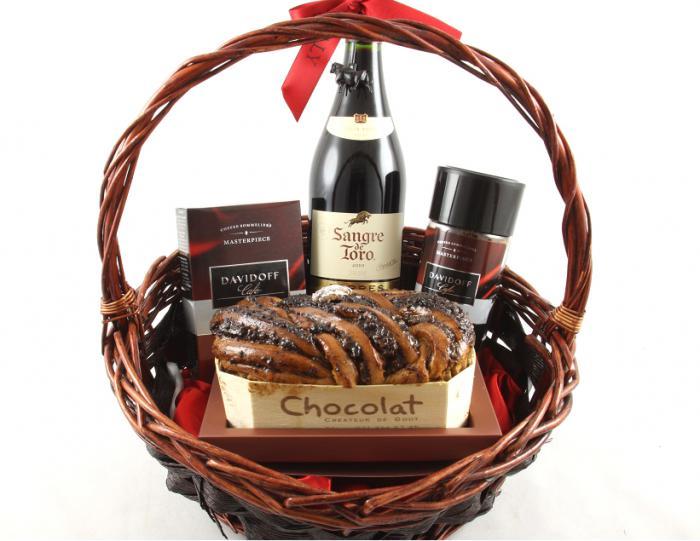 Sangre de Toro Luxury Gift Basket & Butoni Barbati 4