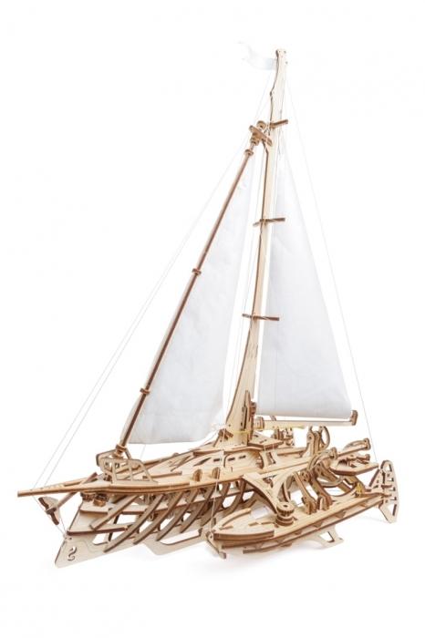 Barca Trimaran Puzzle 3D Mecanic [0]