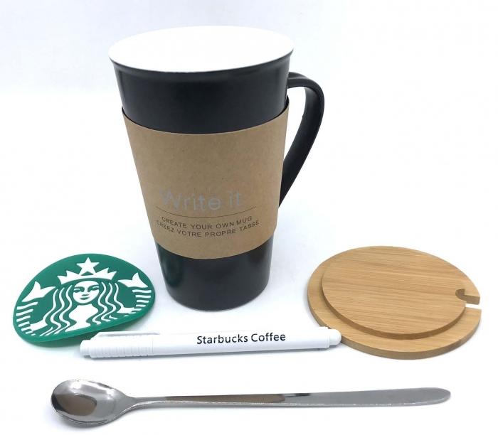 Cana Ceramica Starbucks- Write it 0