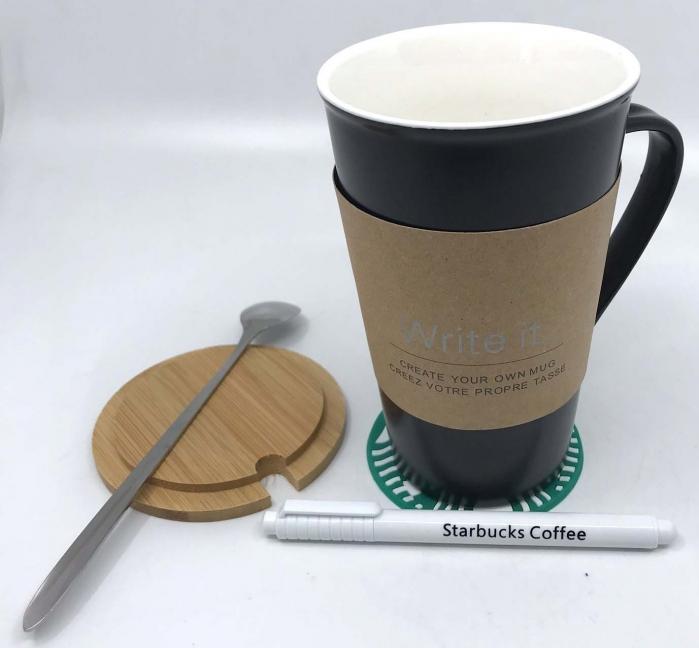 Cana Ceramica Starbucks- Write it 2