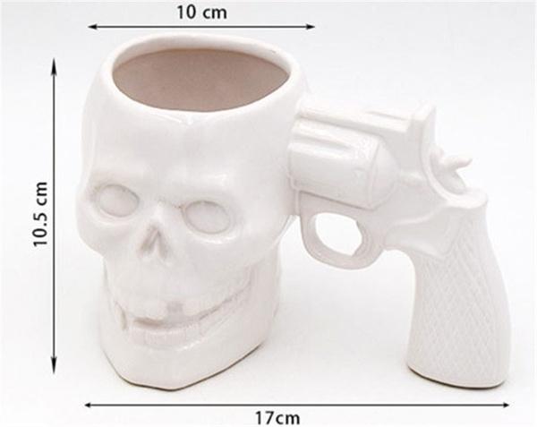 Cana Skull Syringe Mug by Borealy [1]