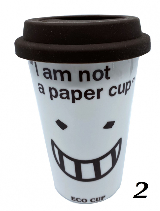 """Cana Eco """"I am not a paper cup"""" 1"""